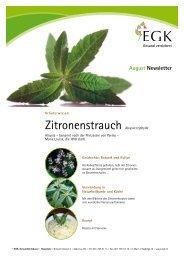 Zitronenstrauch - EGK-Gesundheitskasse