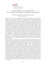 Artikel von Rachel Nellen und François Meienberg
