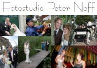 Prospekt und Preisliste - Fotostudio Peter Neff