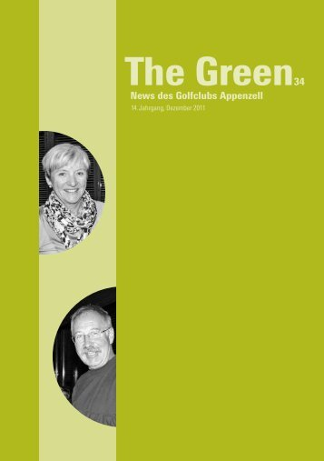 The Green 34 downloaden - Golfclub Appenzell