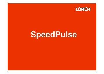 Vergleich Schweißgeschwindigkeit Puls vs ... - Brüning Gmbh & Co.