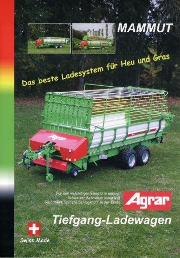 Tiefgang-Ladewagen - gvs agrar