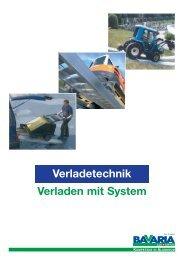 Verladetechnik Verladen mit System - HAND Baumaschinen AG