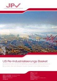 US Re-Industrialisierungs Basket - Jud & Partner Strukturierte ...