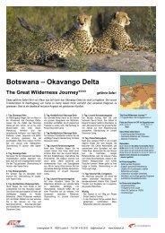Botswana – Okavango Delta - ITO Reisen