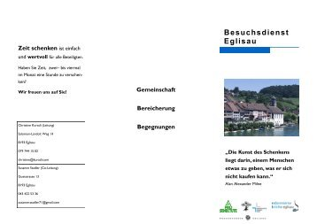 Besuchsdienst Eglisau - Kirche Eglisau