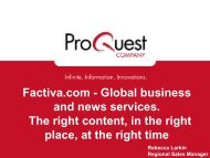 Factiva.com - Global business and news services. The right content ...
