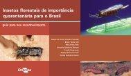 Insetos florestais de importância quarentenária para o Brasil