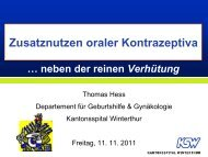 Dokumente - im Kantonsspital Winterthur