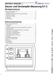 Details Steuerung K1-3