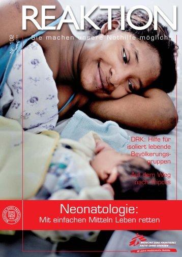 Mit einfachen Mitteln Leben retten - Médecins Sans Frontières Suisse