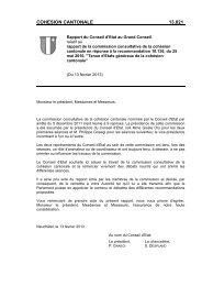 13.021_ce: cohesion cantonale - Canton de Neuchâtel