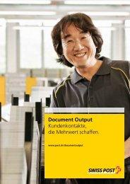 Broschüre Document OutputLink wird in einem neuen Fenster geöffnet