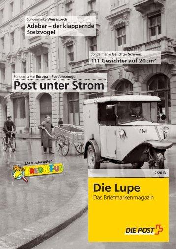 Die Lupe 2/2013 - Die Schweizerische Post