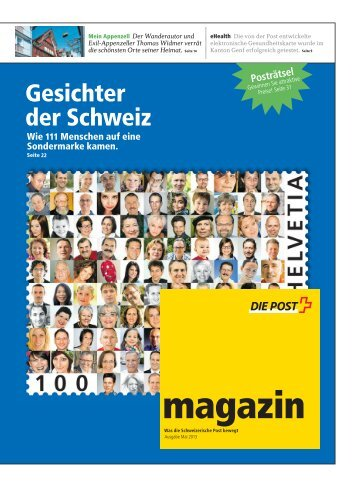magazin - Die Schweizerische Post
