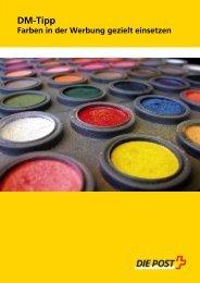 DM-Tipp: Farben in der Werbung gezielt einsetzen