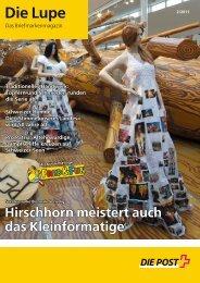 das briefmarkenmagazin, die lupe 2/2011 - Profilwerk