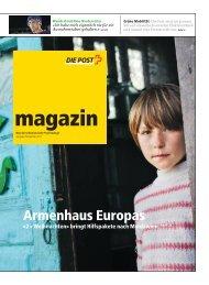 magazin - Ausgabe November 2011 - Die Schweizerische Post