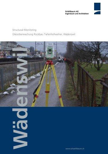 Structural-Monitoring Gleisüberwachung Rückbau ... - Schällibaum AG