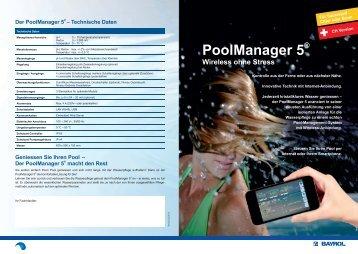 Der PoolManager 5®— Technische Daten