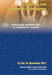 Einladung zum Sicherheits-Fachkongress - Safety-Plus | Homepage
