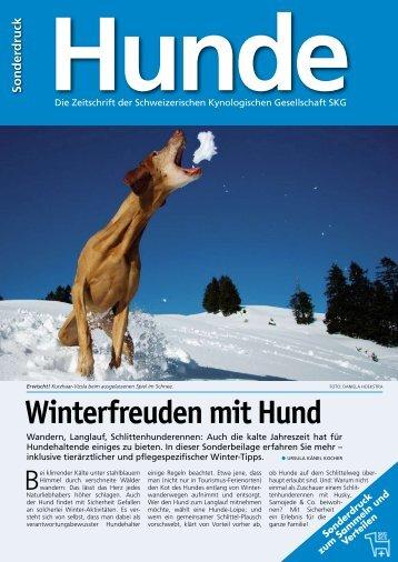 Sonderbeilage: Gesund durch die kalten Wintertage - SKG