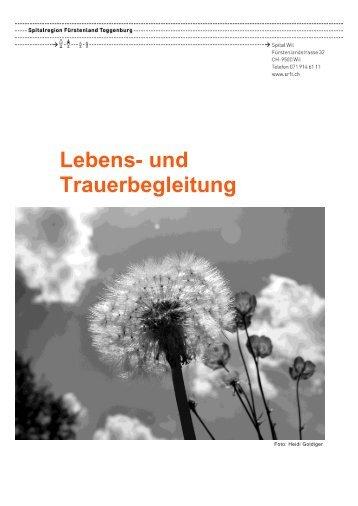 Lebens- und Trauerbegleitung - Spitalregion Fürstenland Toggenburg