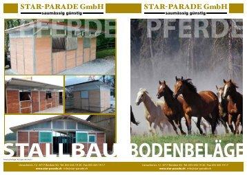 Bodenbeläge - Star Parade