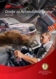 Orodja za Avtomobilske Servise - Ingersoll Rand