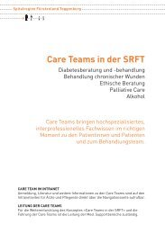 Care-Team - Spitalregion Fürstenland Toggenburg