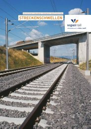 streckenschwellen - Vigier-Rail