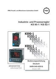 KS90-1 KS92-1 - Vetter GmbH Mess
