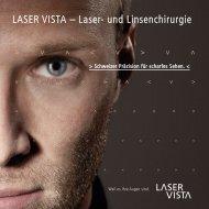 LASER VISTA – Laser- und Linsenchirurgie - Vista Klinik