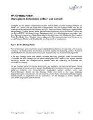 MA Strategy Radar - WEMF AG für Werbemedienforschung