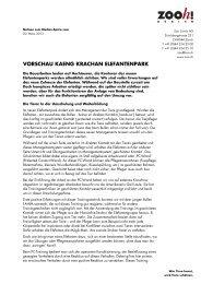 Vorschau Kaeng Krachan Elefantenpark [PDF, 65.0 KB] - Zoo Zürich