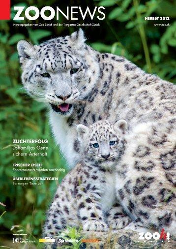 Zoonews Herbst 2012 - Zoo Zürich