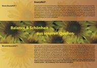Balance & Schönheit aus inneren Quellen - Hotel Alpenhof Postillion