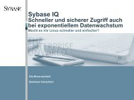 Sybase IQ - best Systeme Gmbh