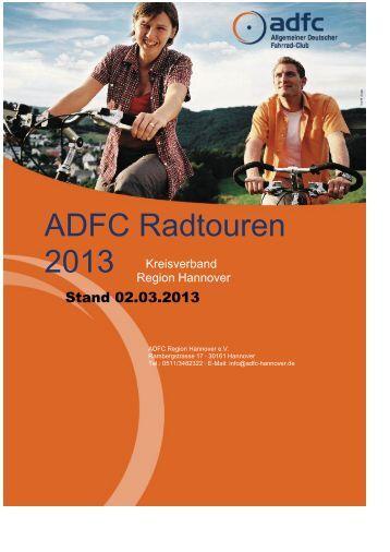 ADFC Radtouren - ADFC Region Hannover eV