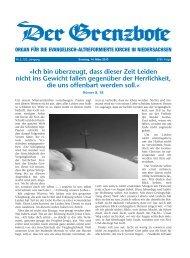 14. März 2010 - Die Evangelisch-altreformierte Kirche in ...