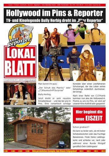 Lokalblatt - Alter Reporter