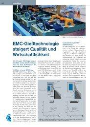 EMC-Gießtechnologie steigert Qualität und ... - Austria Metall AG