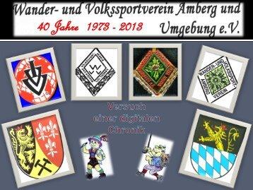 die Vereinschronik erstellt von Engelbert Mirbeth als pdf-Datei
