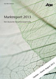 Marktbericht 2013_Update August_03092013.indd - Aon