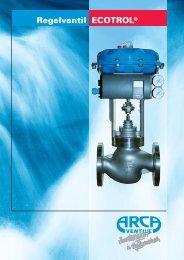 Regelventil ECOTROL® - Arca-Regler GmbH