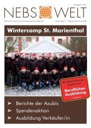 Wintercamp St. Marienthal - Netzwerk Berliner Schülerfirmen (NeBS)