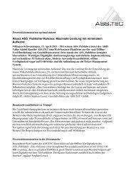 Neues ASS_Publisher-Release: Maximale Leistung mit minimalem ...