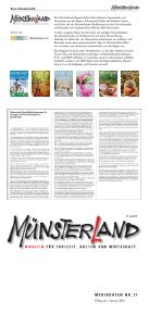 Münsterland Magazin Mediadaten Nr. 17/2014 - Tecklenborg Verlag - Page 2