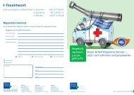 Reparatur-Service - Bauer & Reif Dentalhandel und