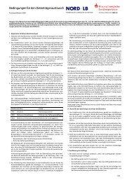 Bedingungen für den Datenträgeraustausch - Braunschweigische ...